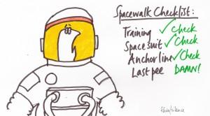 spacewalk checklist