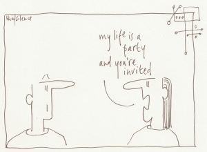 26 my life is a party ...
