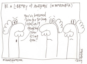 7 be a library