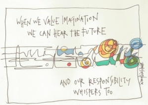 15 when we vallue imagination
