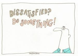 1 dissatisfied