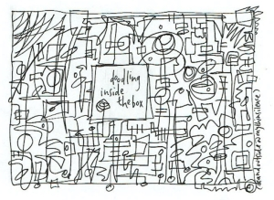 26 doodling inside