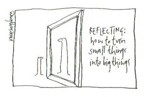 5 reflecting